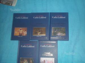 Libri teatro COMMEDIE di CARLO GOLDONI