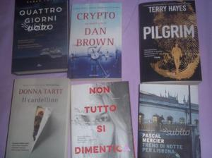 Libri vari e recenti pubblicazioni