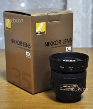 Nikon 35 mm f 1,8 dx nital