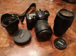 Nikon D90 body + fisheye 8mm +