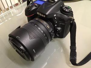 Nikon d con obiettivi e tutti i suoi accessori