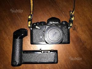 Nikon fe reflex anni 80 + motore nikon md 11