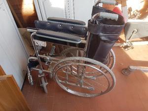 Sedie A Rotelle Usate : Sedia a rotelle carrozzella spinta usata ritiro posot class