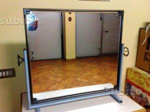 Mobile bagno a colonna contenitore con specchio tulip specchio