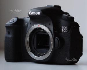 Canon 60D e 2 obiettivi Canon