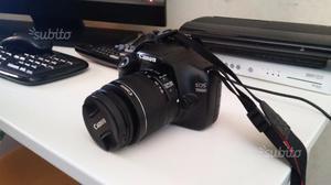 Canon eos d+obiettivo mm+treppiedi+borsa