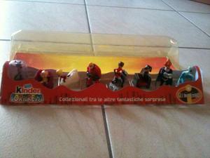 Collezione Gli Incredibili Kinder Sorpresa Rara