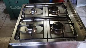 Cucina a gas con forno elettrico zoppas posot class - Cucina forno a gas ...