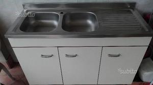 Lavelli Cucina Con Mobile - Lavello Cucina 2 Vasche - Voog.info