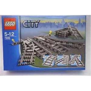 """Lego City """"Set scambi per la ferrovia """" 5-12 anni"""