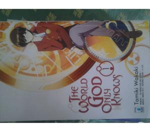 MANGA THE WORLD GOD ONLY KNOWS VOL.1-5