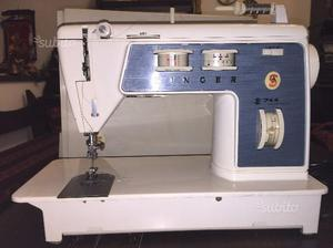 Vendo macchina da cucire singer 414 beige usata posot class for Vendo macchina da cucire