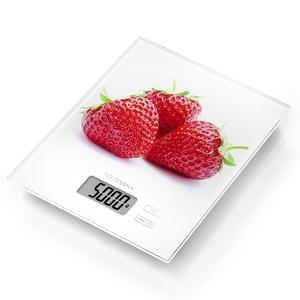 Medisana Bilancia digitale da cucina KS 210 Vetro Fragola 5