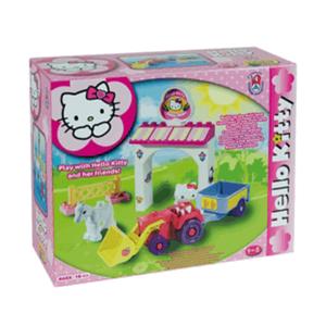 Mini fattoria Hello Kitty costruzioni