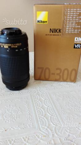 Nikon obiettivo AF-P  mm VR