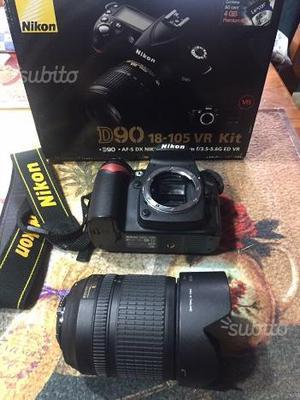 Reflex Nikon D90 e Obiettivo Sigma