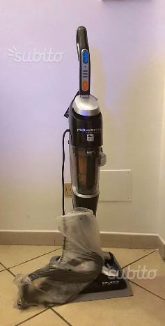 Scopa elettrica aspira e lava 2in1 rowenta posot class for Folletto aspira e lava