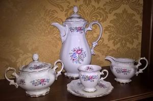 Servizio da caffè vintage in porcellana Eschenbach – La
