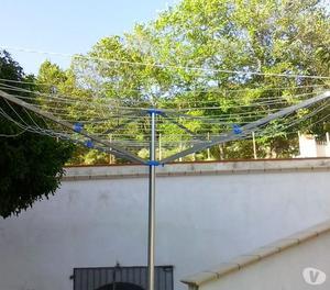 Stendino stendibiancheria a ombrello posot class - Stendibiancheria da giardino ad ombrello ...
