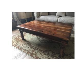 Tavolino etnico in legno