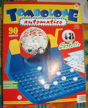 Tombolone automatico gioco della tombola