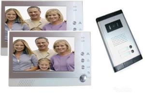 Videocitofono a colori con doppio monitor LCD da 7