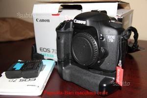 Canon 7d + batterygrip  scatti documentati