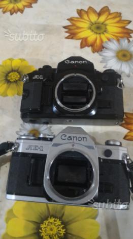 Corpi Canon a1 e Canon ae1