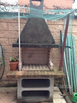 Barbecue in muratura da esterno posot class - Barbecue in giardino ...