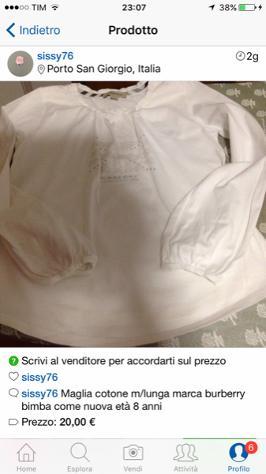 Burberry abbigliamento bimbo Fascia di età 6-12 anni