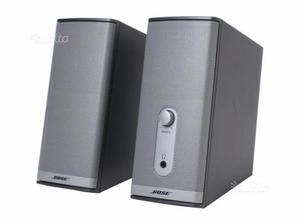 Bose sistema multimediale companion 3 per pc posot class - Impianto bose casa ...
