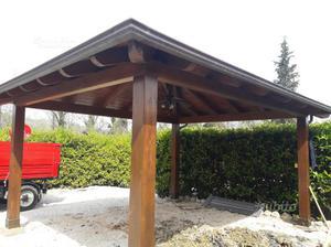 Gazebo legno