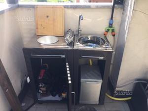 Lavello Da Giardino In Plastica : Lavello da esterno con mobiletto usato posot class