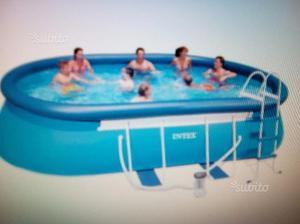 Piscina ovale 549x305x107cm posot class for Comprare piscina fuori terra