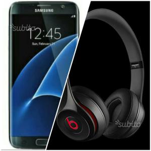 Samsung galaxy S7 edge con Beats Solo2