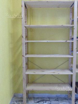 Molger ikea scaffale ripiani legno marrone posot class for Scaffale legno componibile