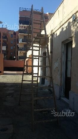 Scala in legno 12 gradini