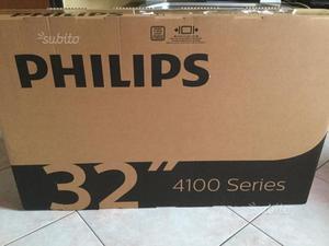 TV Philips Led 32'' slim HD nuovo ancora imballat