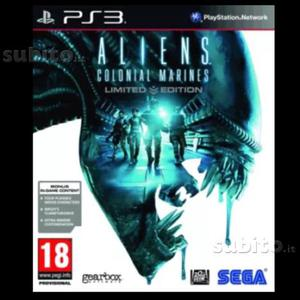 Alien Colonial Marines Limited Edition PS3, NUOVO