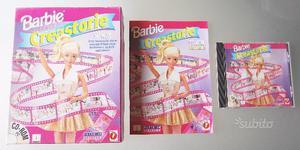 Barbie creastorie pc cd rom mattel completo