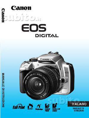 Canon Libretto Fotocamere e Flash Digitali vari