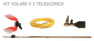Kit volare x 2 telescopico Sbaraglia - Ferramenta Cardelli