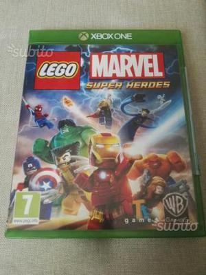 Lego Marvel Super Heroes xbox one no ps4