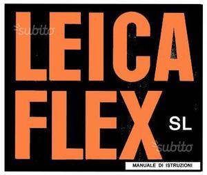 Leica Libretto Fotocamere Analogiche Digitali