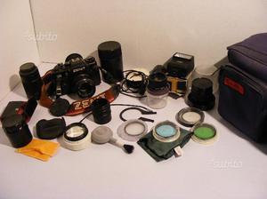 Macchina fotografica reflex zenit 122 funzionante