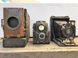 Macchinette fotografiche varie epoche