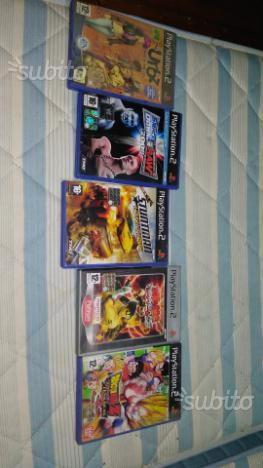 N 5 giochi originali per playstation 2