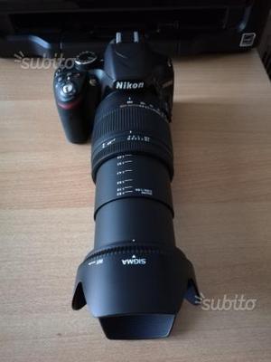 Nikon D + Obiettivo Sigma  + Zainetto