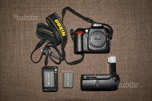 Nikon D90 + Battery Grip