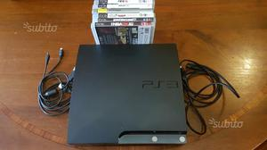 Ps3 Slim con 6 giochi